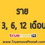 โปรเน็ตทรู ราย3 เดือน 6 เดือน 12 เดือน สุดคุ้ม 1 Mbps 2 Mbps 4Mbps สมัครง่ายๆ